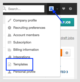 managing email templates workable support