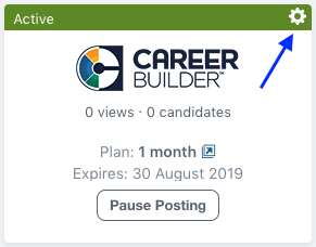 Integrating your CareerBuilder account – Workable Support